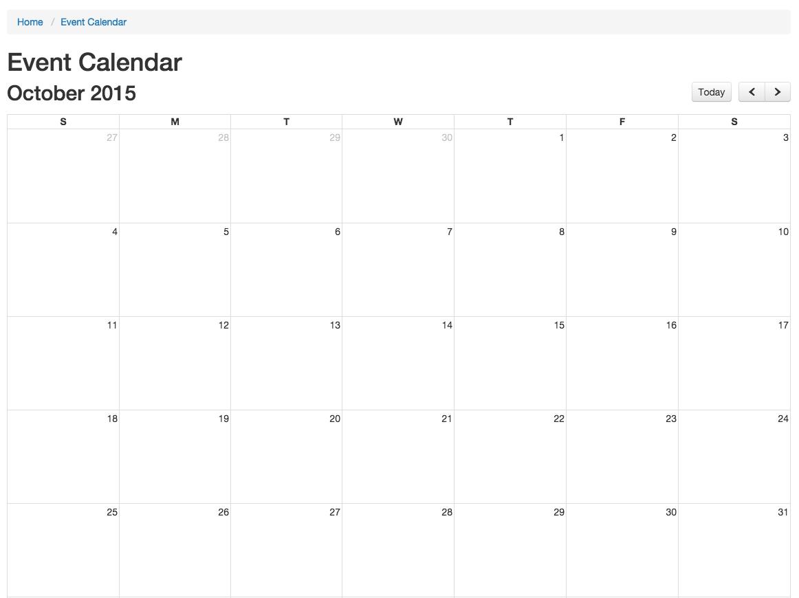 creating a calendar mura docs v6
