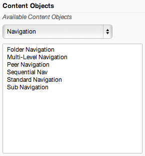 Adding Sub Navigation - Mura Docs v6
