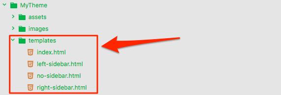 Theme Layout Templates - Mura Docs v7.0